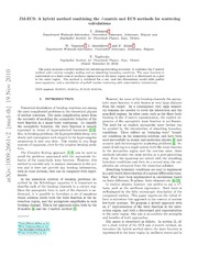 JM-ECS: A hybrid method combining the $J$-matrix and ECS methods for scattering calculations