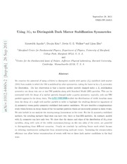 Using M T2 to Distinguish Dark Matter Stabilization Symmetries