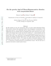 On the gravity dual of Chern-Simons-matter theories with unquenched flavor
