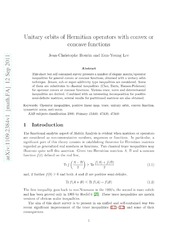 Unitary orbits of Hermitian operators with convex or concave functions