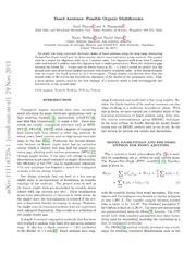 Fused Azulenes: Possible Organic Multiferroics