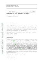 $Λ$ and $Σ^ $(1385) hyperons reconstruction in the CBM experiment for p C reaction at 10 GeV-c