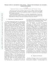 Raman studies on amorphous carbon layers - Raman-Untersuchungen von amorphen Kohlenstoffschichten