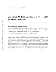 Generating All Tree Amplitudes in N=4 SYM by Inverse Soft Limit