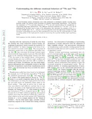 Understanding the different rotational behaviors of $^{252}$No and $^{254}$No