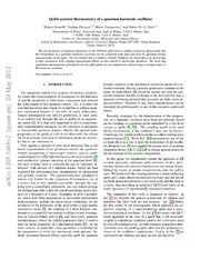 Qubit-assisted thermometry of a quantum harmonic oscillator