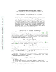 Uniqueness of quasi-Einstein metrics on 3-dimensional homogeneous manifolds