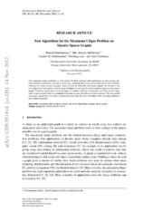 Fast Algorithms for the Maximum Clique Problem on Massive Sparse Graphs