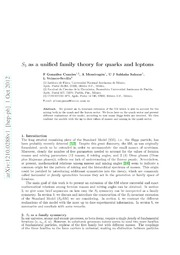 $S 3$ as a unified family theory for quarks and leptons