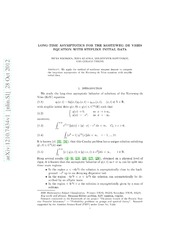 Long-Time Asymptotics for the Korteweg-de Vries Equation with Steplike Initial Data