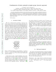 Locally free group as a bridge between combinatorics of heaps and statistics of spin systems