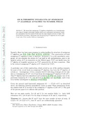 On K-theoretic invariants of semigroup C*-algebras attached to number fields