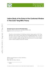 Lattice Study of the Extent of the Conformal Window in Two-Color Yang-Mills Theory