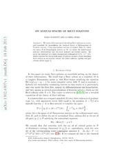 On moduli spaces of Ricci solitons