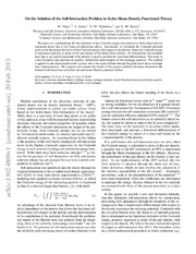 On the Solution of the Self-Interaction Problem in Kohn-Sham Density Functional Theory