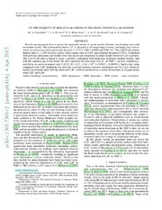 On the ubiquity of molecular anions in the dense interstellar medium