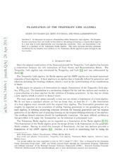 Framization of the Temperley-Lieb Algebra