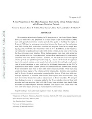 X-ray Properties of Pre-Main-Sequence Stars in the Orion Nebula Cluster with Known Rotation Periods
