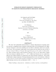 nucleosynthesis r process The r-, s-, and p-processes in nucleosynthesis bradley s meyer department of physics and astronomy the r-process, is responsible for the r-nuclei, whose.