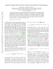 Quantum Nonlinear Sigma Model for Arbitrary Spin Heisenberg Antiferromagnets
