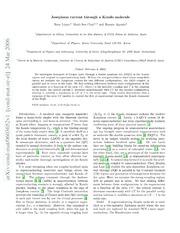 Josephson current through a Kondo molecule