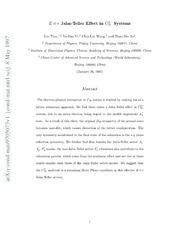 $Eotimes e$ Jahn-Teller Effect in $C {70}^{3-}$ Systems
