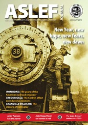 ASLEF Locomotive Journal January 2016