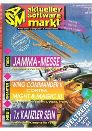 Aktueller Software Markt ASM Magazine December 1991