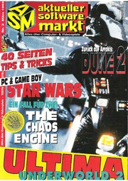 Aktueller Software Markt ASM Magazine March 1993