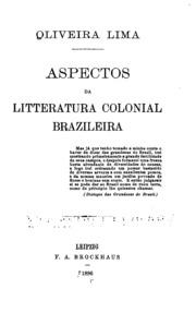 Aspectos da litteratura colonial brazileira