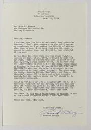 Bo to Boy: Assorted Correspondence and Ephemera File