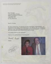 Assorted Correspondence and Ephemera File: Eidelman to Esylum