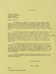 PE Correspondence, 1963-2000