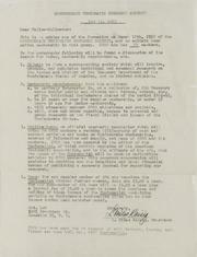 RA Correspondence, 1952-1988