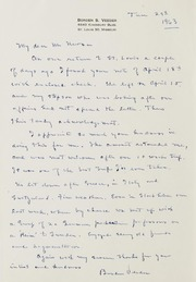 V Correspondence,1960-2013