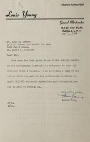 XYZ Assorted Correspondence, 1948-1989