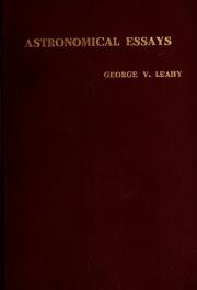 essays astronomy essays