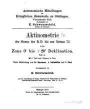 Astronomische Mittheilungen von der Königlichen Sternwarte zu Göttingen