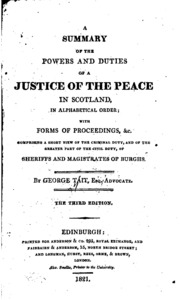 how to find a justice of the peace scotland