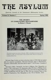 The Asylum, Spring 1982