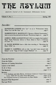 The Asylum, Spring 1987