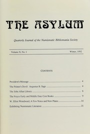The Asylum, Winter 1992