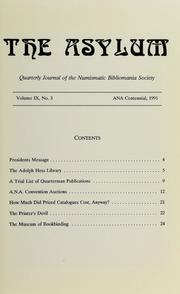The Asylum, ANA Centennial 1991