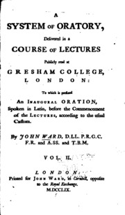 an essay on punctuation joseph robertson a system of oratory delivered in a course of lectures publicly at gresham college london