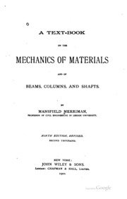 J r barber intermediate mechanics of materials free download a text book on the mechanics of materials and of beams columns and shafts fandeluxe Choice Image