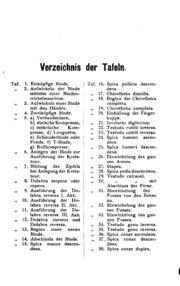 Atlas und Grundriss der Verbandlehre