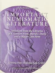 Auction Sale 125: Important Numismatic Literature
