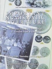 Auction Sale 126: Important Numismatic Literature