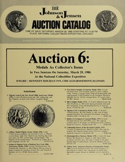 Auction 6: Medals As Collector's Items