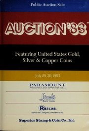 Auction '83: Featuring United States Gold, Silver & Copper Coins